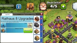 DER NEUE UPGRADE BUTTON! || Clash of Clans Update - Idee [Deutsch/German HD+]