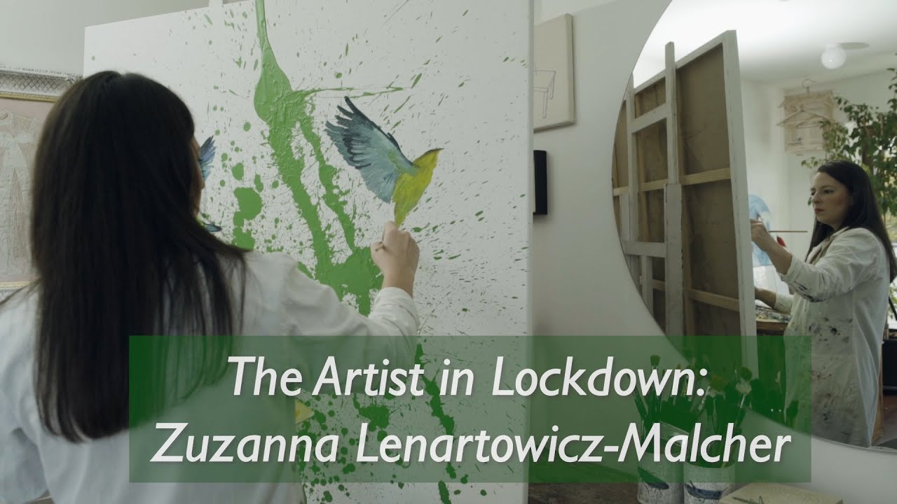 The Artist in Lockdown: Zuzanna Lenartowicz-Malcher in her studio