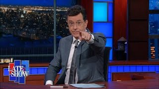 Stephen Colbert Takes The Gloves Off: Gun Control - The Late Show with Stephen Colbert