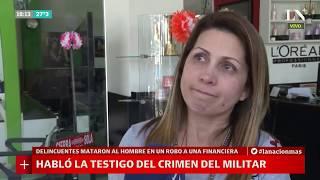 Una testigo contó cómo fue el crimen del militar - Café de la Tarde
