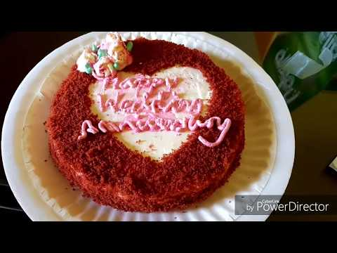 Red Velvet Cake Half Kg  | How To Make 1/2 Kg Red Velvet Cake