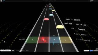 Sono Chi no Sadame (Jojo's Bizarre Adventure) -Rhythm Track, Roblox