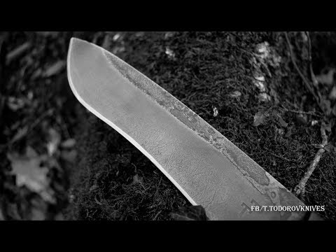 Knifemaking How To Make Camp Knife PART 1 Leather Sheath Included