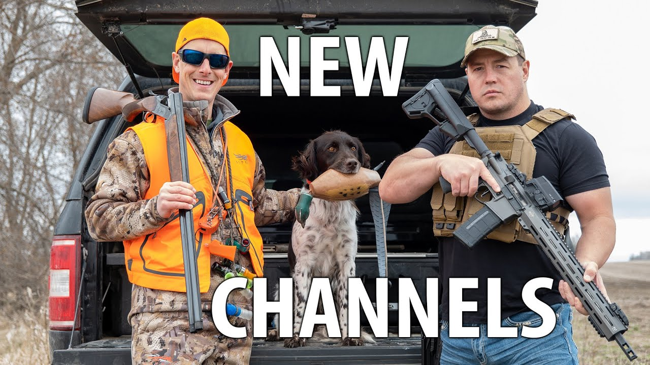 Our New Youtube Channels!!! Gould Brothers