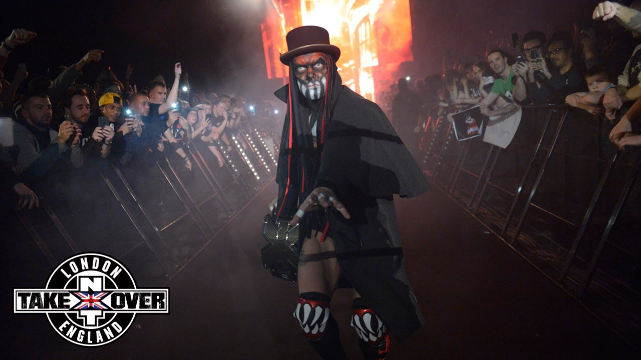 Wwe Network Finn Bálor Shows Off New Demon Attire Wwe Nxt Takeover