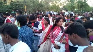 sarhul dance at jharkhand 1