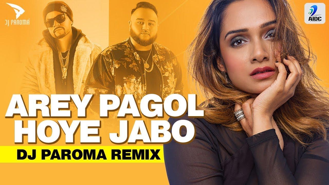 AMI PAGOL HOYE JABO | DJ PAROMA | DEEP JANDU | BOHEMIA | REMIX