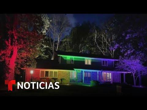 Vecinos se quejan de una bandera LGBTQ y pareja les responde   Noticias Telemundo