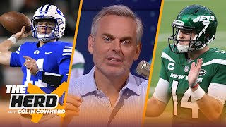 Sam Darnold deserves fair shot in Carolina, Zach Wilson wins in Jets trade - Colin | NFL | THE HERD