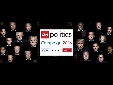 """CNN Politics Campaign 2016: Like, Share, Elect"""