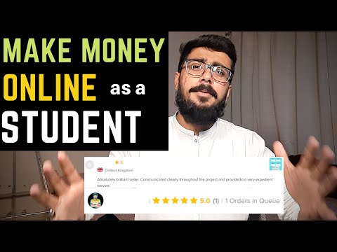 5 Best Online Work For Students To Earn Money   Earn Money Online Without Investment For Students
