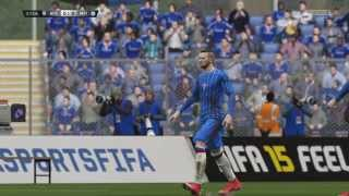 2 Crazy Goal Post Hits - Fifa 15 (PS4)