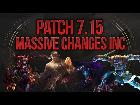 Patch 7.15 Massive Changes Inc! Shyvana & Nasus Buffs [League of Legends] [Deutsch/German]