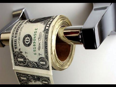 Toilet Paper is Cash Now