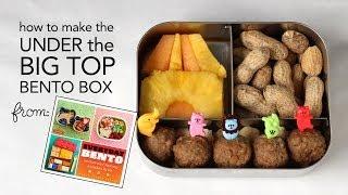 Learn to Make a Circus Bento Box from Everyday Bento - an American Bento Box Tutorial