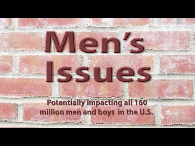 Intro to Men's Issues