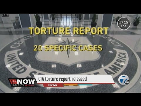 CIA Torture Report released