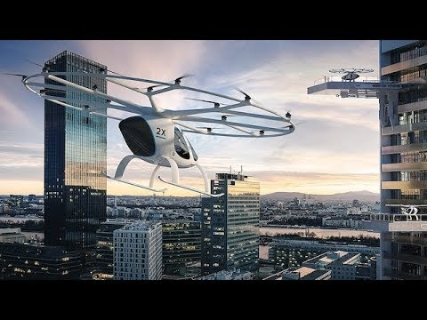 Dubai's autonomous flying taxis     The first time of the world     Top News Today