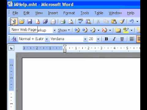 Microsoft Office Word 2003 Create a resume - YouTube - how to create a resume in microsoft word