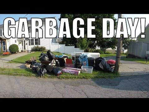 LOOK WHAT I FOUND IN THE TRASH FOR FREE! Garbage Picking Ep. 78