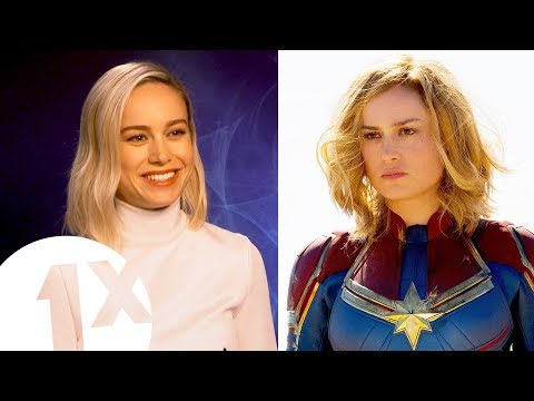 """Fake it till you make it!"" Captain Marvel's Brie Larson on living life as a superhero."