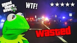 "GTA 5 5-Star Wanted Level in Real Life! ""KERMIT, HIDE THE DRUGS!"""
