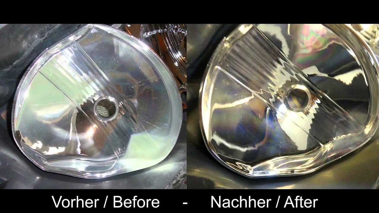 how to geklebte scheinwerfer aufbereiten ffnen backen polieren german youtube. Black Bedroom Furniture Sets. Home Design Ideas