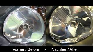 How to geklebte Scheinwerfer aufbereiten, öffnen, backen, polieren GERMAN