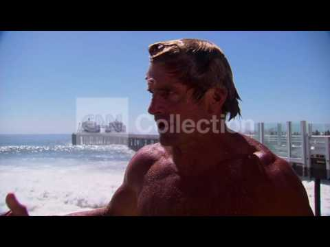 CA BIG SURF:LAIRD HAMILTON-BIGGEST WAVES IN YEARS