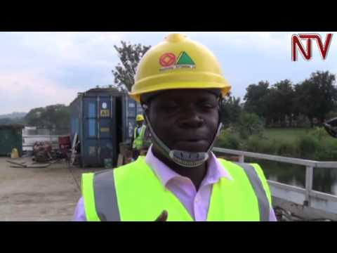 Construction of Nile Cable Bridge at 30% completion
