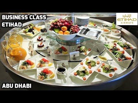 Etihad Airways Business Class Premium Lounge Abu Dhabi Airport