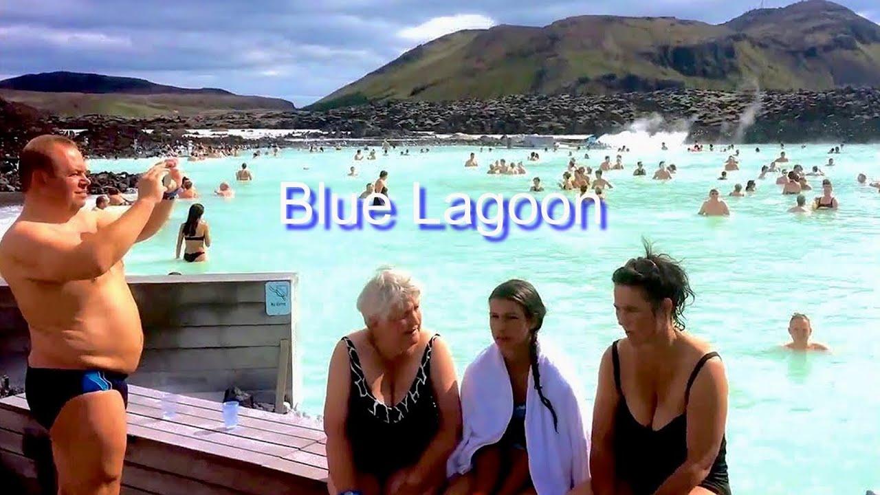 Iceland blue lagoon nude