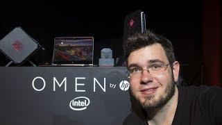 PLECAK VR OMEN BY HP #DominateTheGame