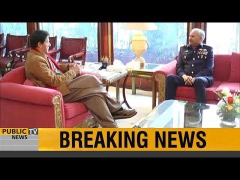 Chief of Air Staff Air Chief Marshal Mujahid Anwar Khan called on PM Imran Khan