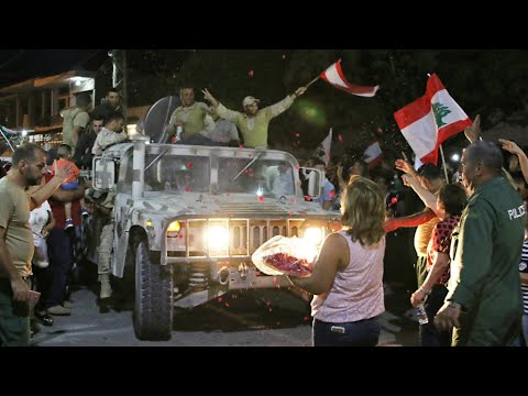 Lebanon: Heroes' welcome for troops battling IS group jihadists