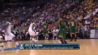2巡目19位カイル・オクイン(マジック)NBAドラフト2012