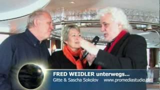 Fred Weidler unterwegs...mit der MS ALINA auf dem Rhein