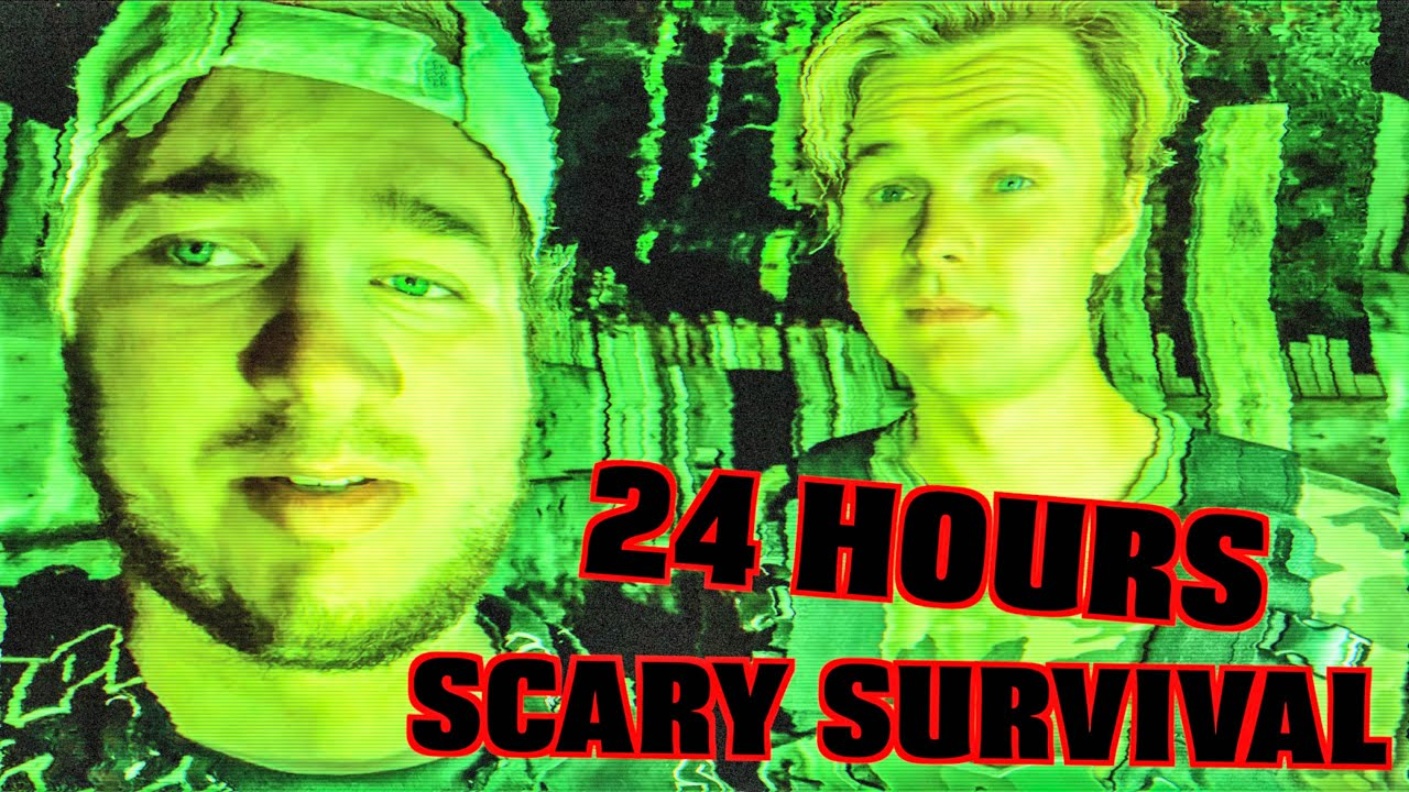 Zombie SURVIVAL Simulator IRL BASE DEFENCE! 24 Hour Challenge BTS