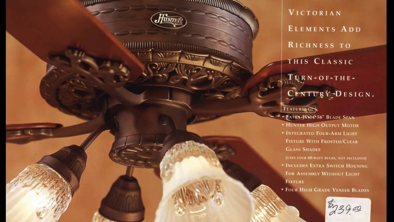 Hunter ceiling fan catalog from 2001 youtube hunter ceiling fan catalog from 2001 mozeypictures Images