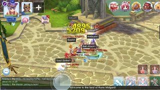 PVP Arena with Rogue Dagger Lv 50 Test! - Ragnarok Online Mobile Eternal Love (PVP Arena)
