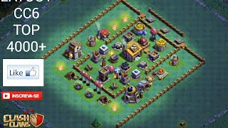 LAYOUT CC6/BH6 TOP BR 4000+ TROFÉUS + REPLAYS -CLASH OF CLANS