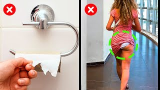 32 AWKWARD MOMENTS WE ALL CAN RELATE || Funny Situations From Everyday Life