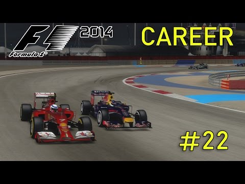 F1 2014 Career Mode Part 22: Bahrain Grand Prix (50% Race)