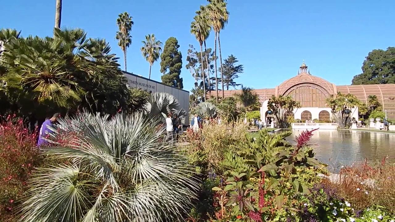 Superbe Balboa Park Botanical Garden, San Diego California