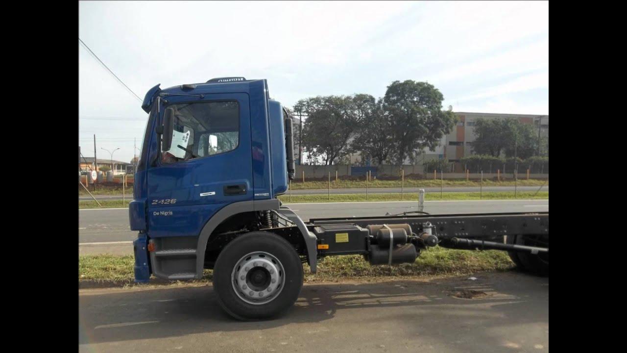 Novo Mercedes bens Atego - YouTube
