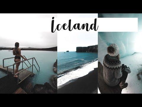 Iceland  Vlog 2018: Waterfalls, Glaciers, Blue Lagoon