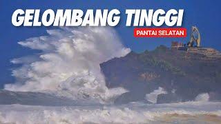 Berhati hati jika ombak pantai baru seperti ini, kondisi terkini Pantai Selatan Jogja