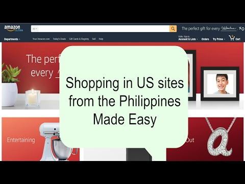 How to Buy in US sites from the Philippines without Dealing with the Customs Part 1