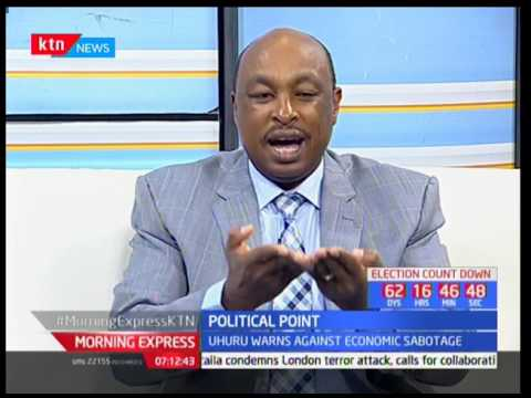 Morning Express : Political Point on economic sabotage