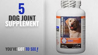 Top 5 Dog Joint Supplement [2018 Best Sellers]: Nutramax Cosequin DS Plus with MSM Chewable Tablets,